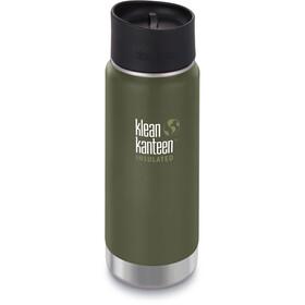 Klean Kanteen Wide Vacuum Insulated Bottle Café Cap 2.0 473ml fresh pine matt